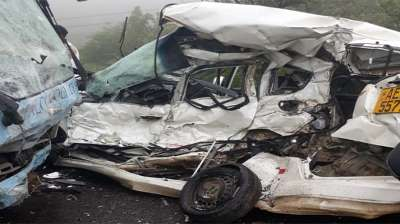 LATEST: One person killed in Falcon College school bus- Honda fit road accident today…Pictures