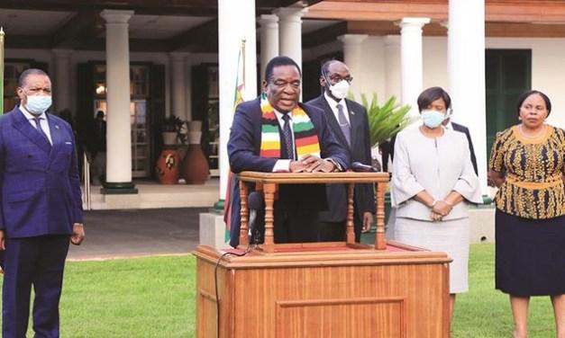 Act As If You Have coronavirus, Mnangagwa Tells Zimbabweans