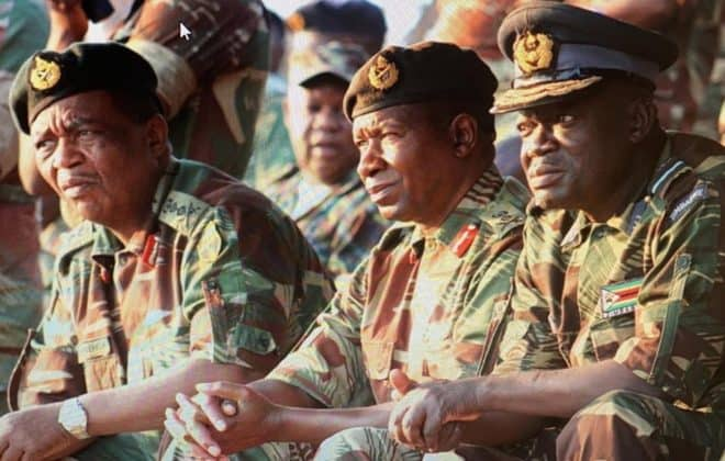 Mnangagwa given a 6 month deadline to leave office by ZDF Commander Gen Sibanda