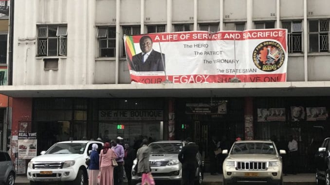 WATCH: Temple run in central Harare as Harvest House is petrol-bombed