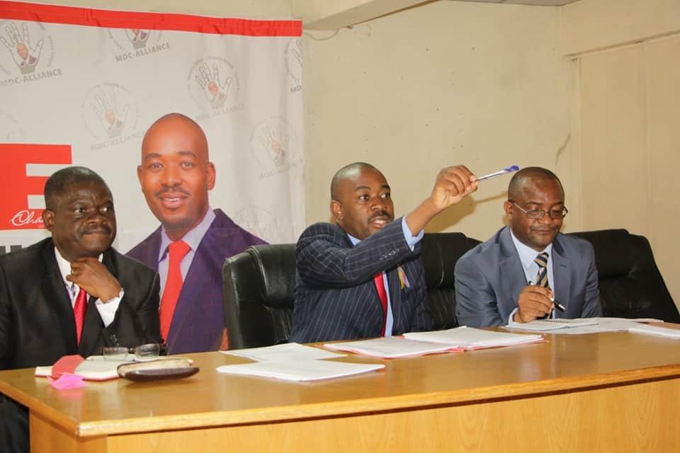 BREAKING NEWS: Coronavirus Rebels' Anti-Chamisa Meeting Flops… REPORTS