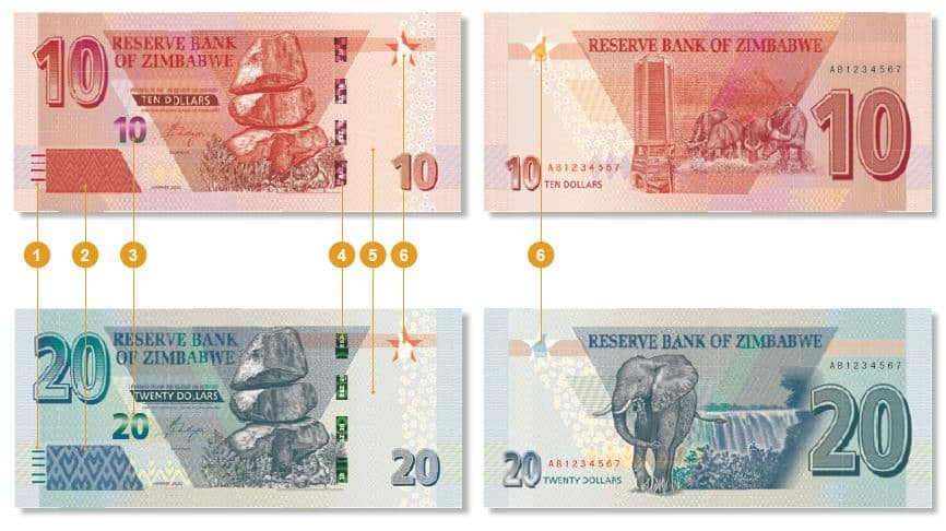 New Banknotes to start Circulating next Tuesday: RBZ… FULL STATEMENT