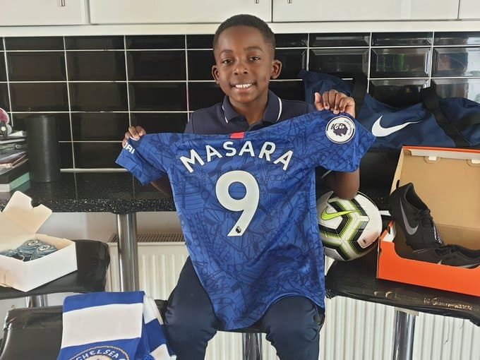 Future Zimbabwe Warrior Josh Masara (8) Signs for Chelsea: PICTURES