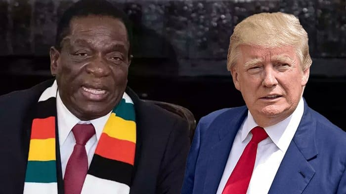 We're not Your Enemies, Zimbabwe's Mnangagwa Tells Donald Trump