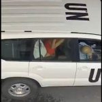 UN Scandal: Peace keeping official leaked car sex video goes viral
