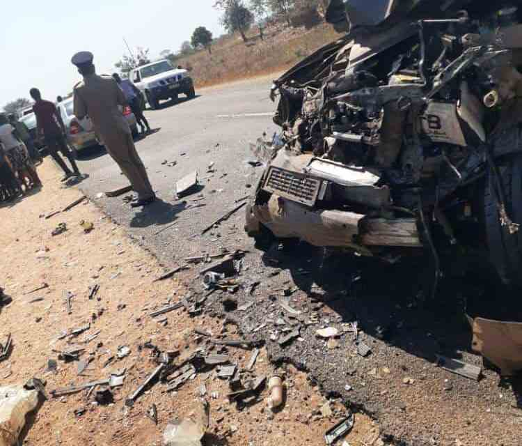 Malawi Vice President motorcade in deadly road accident, 2 dead: PICTURES