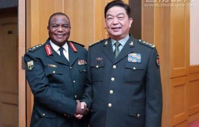 China OKAYS Chiwenga takeover, Gives military the green light to remove Mnangagwa