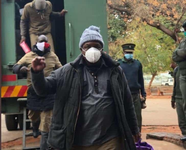 Zimbabwe Government to speak on Chin'ono, Ngarivhume arrests