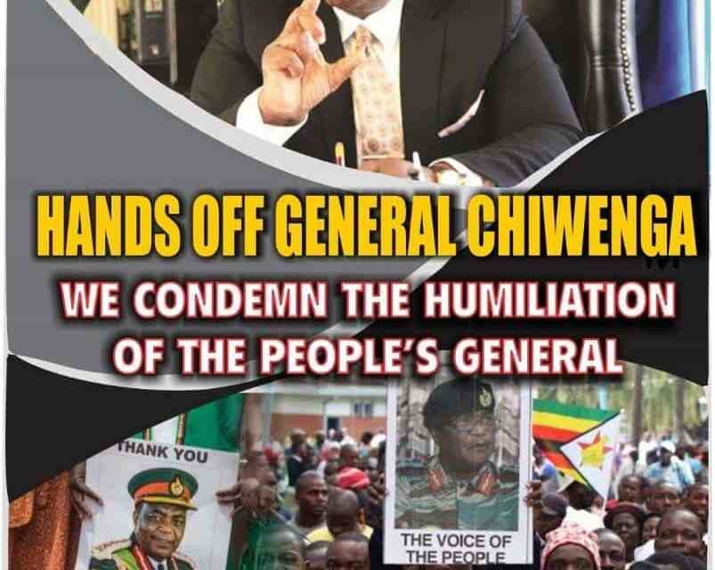 PICTURES: Here are the posters that got Chiwenga in trouble with Mnangagwa