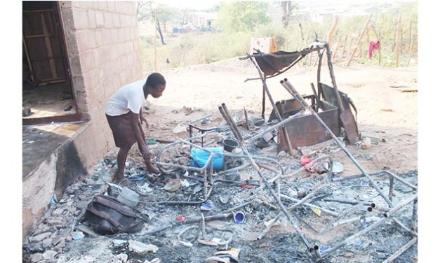 Man sets property on fire, threatens to kill 'cheating' wife of 11 years