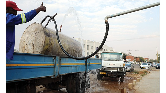 Sale of borehole water banned