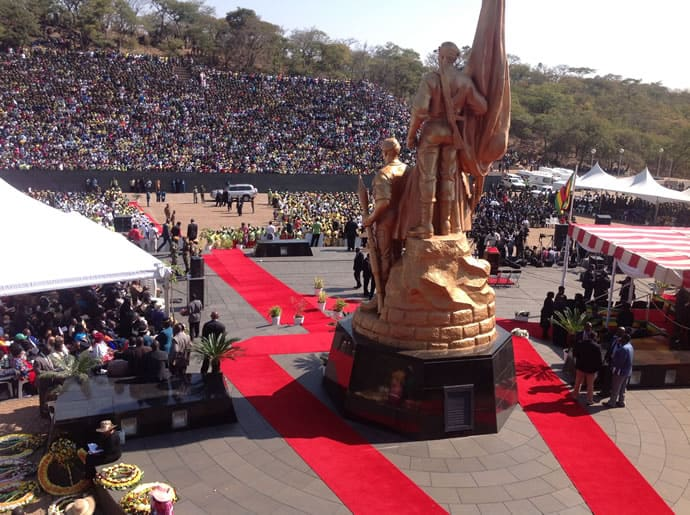 All set for burial of 3 National Heroes today