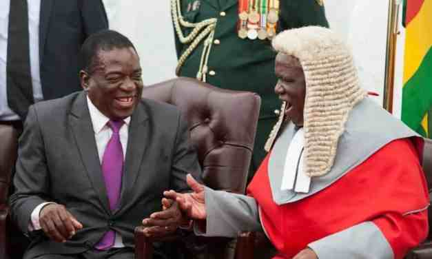 Mnangagwa extends Malaba's term of office by 5 years