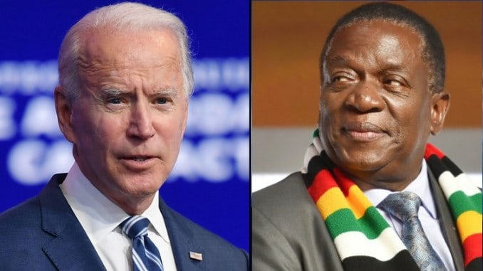Emmerson Mnangagwa is a brutal dictator: Joe Biden told