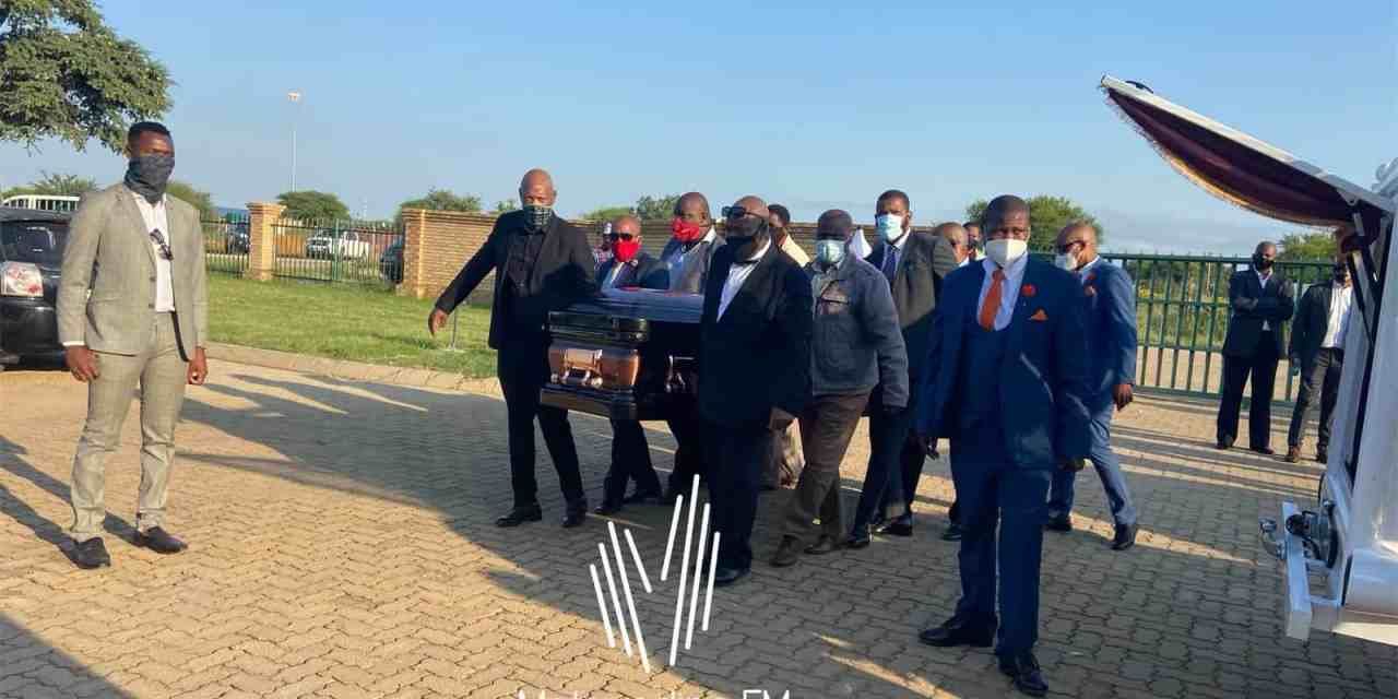 Kabelo Molopyane Funeral: Video and pictures from KB's burial today