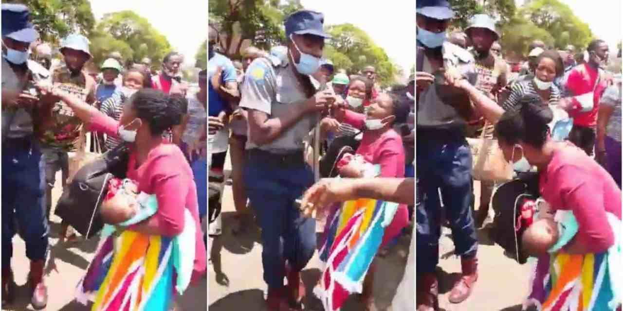 """BREAKING: Police arrest top Zim journalist Hopewell Chin'ono over """"Baby Killed By Police"""" viral story"""