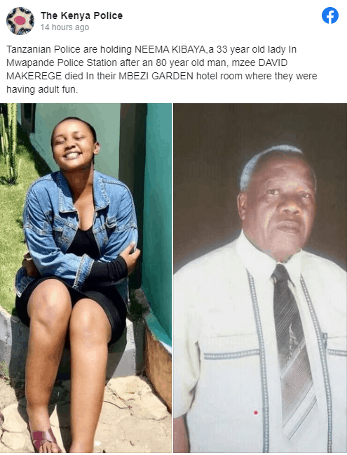 David Mluli, Neema Kibaya report
