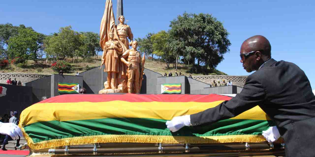 Morton Malianga, Ellen Gwaradzimba Heroes Acre Burial today, Few people allowed