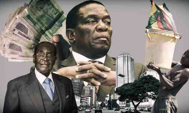 "Report names Mnangagwa ""Cartel Leader,""  Zim losing US$3B per yr, Gold, diamonds to protected criminals"