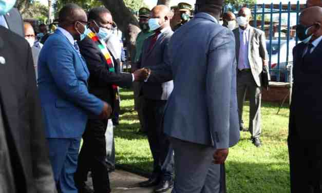 Mnangagwa Commissions National ICT Device Factory… PICTURES…