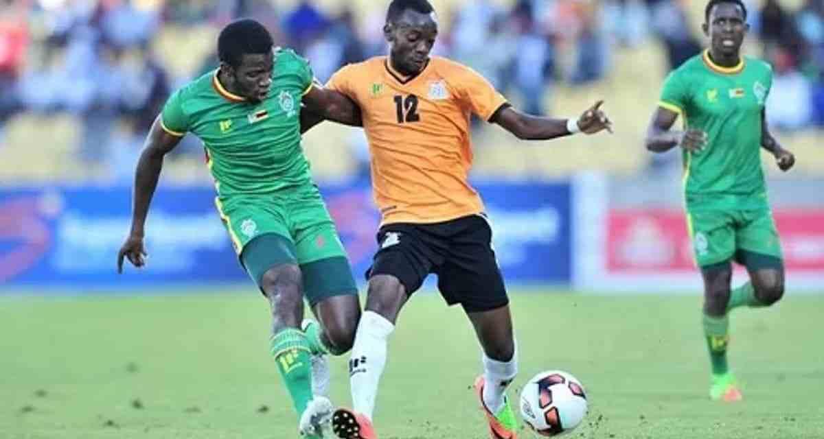 ZIMBABWE VS ZAMBIA: Chipolopolo leading Warriors in Battle of the Zambezi…HALF TIME…
