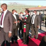 President Mnangagwa leaves for Botswana