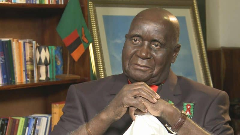 Zambia's first President, Kenneth Kaunda dies