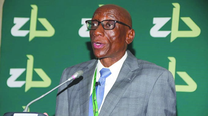 ZB CEO Ronald Mutandagayi, who was recently caught on camera bashing his wife resigns