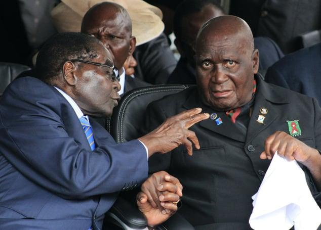 President Mnangagwa mourns Kaunda