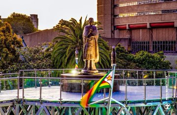 ZRP hunts people spreading fake news alleging that Mbuya Nehanda statue has fallen after accident