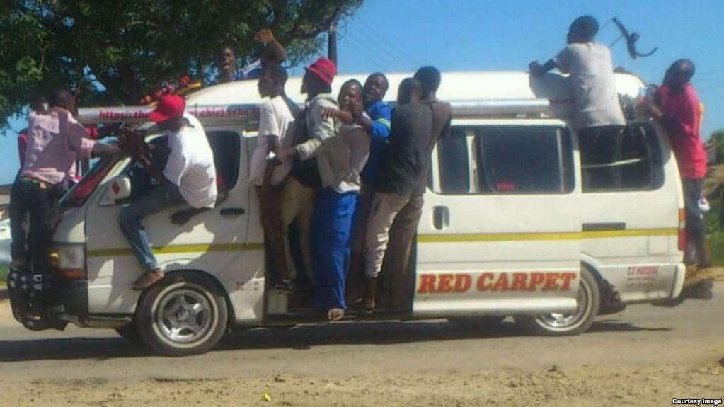 Kombi operators block ZUPCO buses, as police launch blitz on private operators