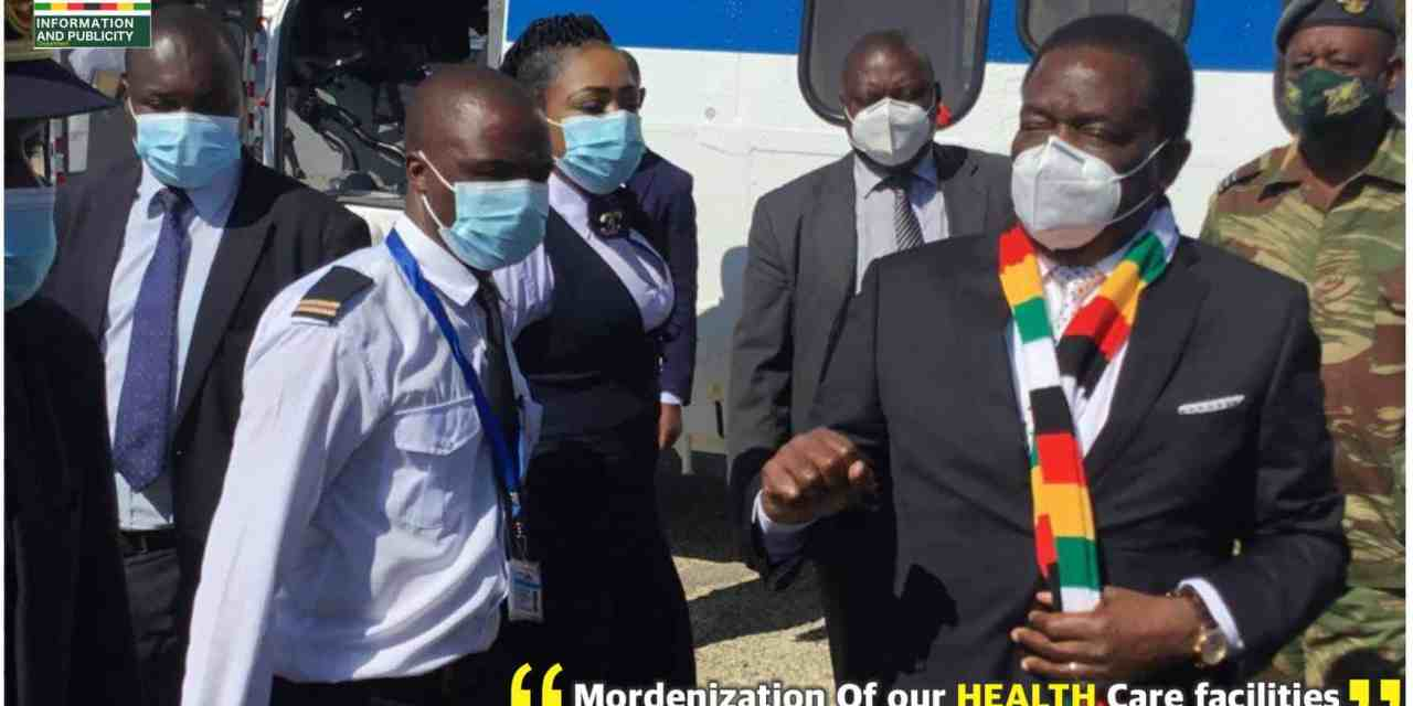 Mnangagwa auctions first-ever Oxygen Plant in Manicaland