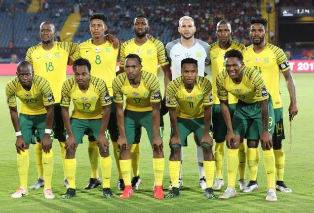 South Africa names squad for World Cup Qualifiers vs Zimbabwe, Ghana…Full Bafana Bafana list