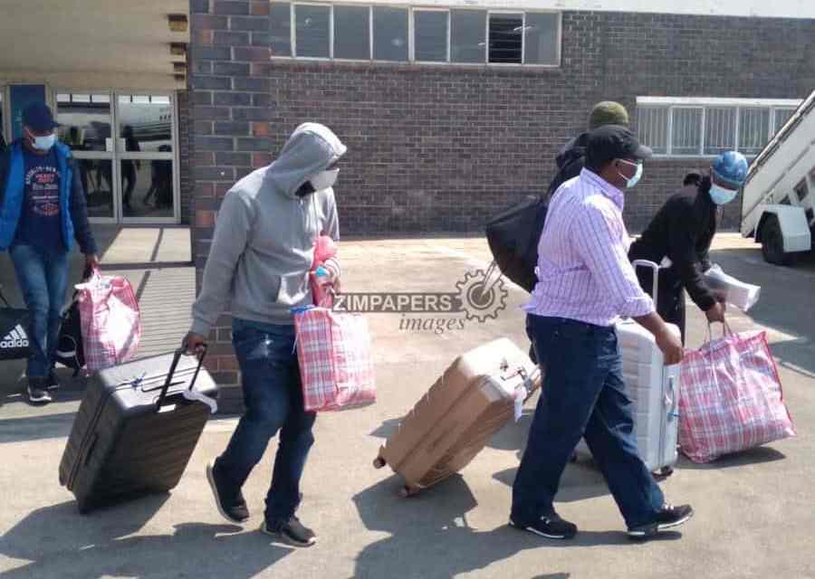 7 UK deportees arrive in Zimbabwe…PICTURES