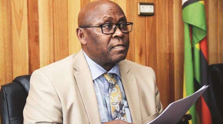 Covid battling Minister Cain Mathema suffers stroke