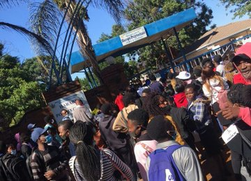 Unvaccinated students barred from attending lectures at Harare Poly