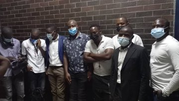 9 journalists arrested at ZEC offices released
