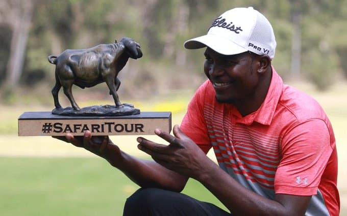 Zimbabwe professional golfer wins Safari Tour 2nd leg
