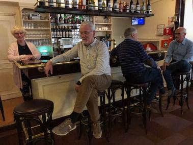 Gezellig aan de bar