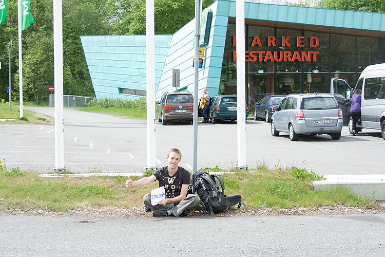 Autostop wNorwegii