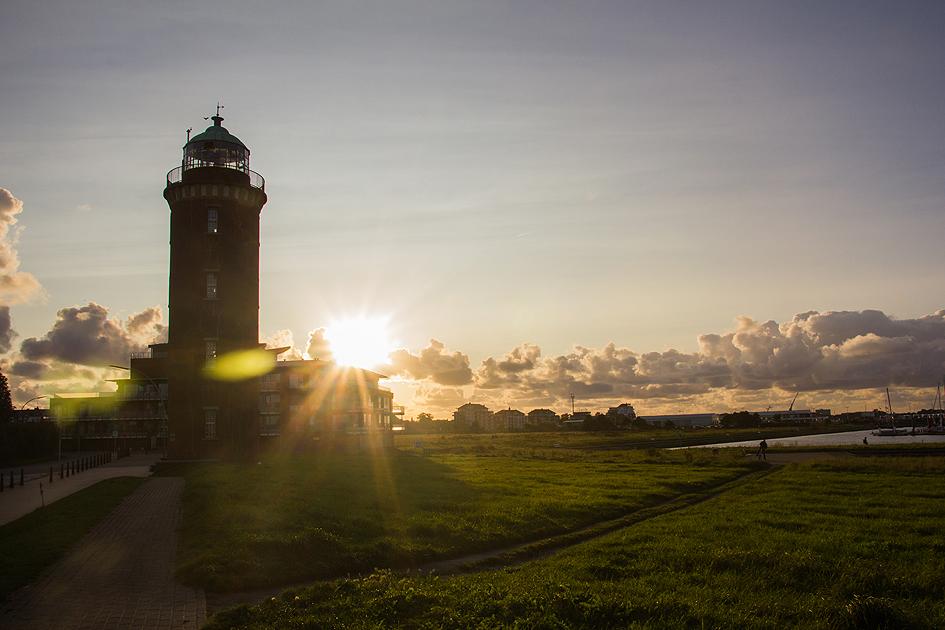 Dolna Saksonia - latarnia morska wCuxhaven