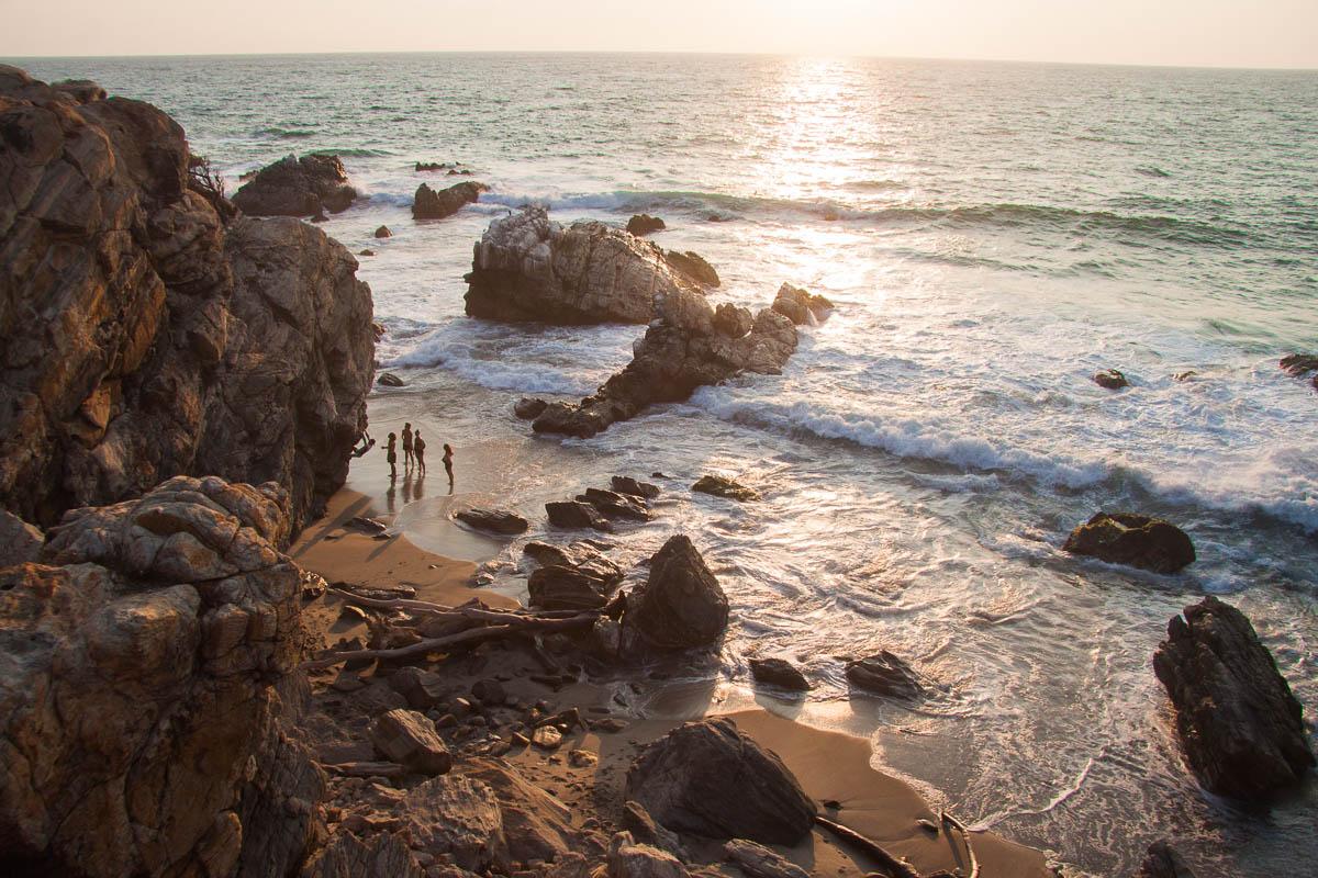 Punta Zicatela wMeksyku