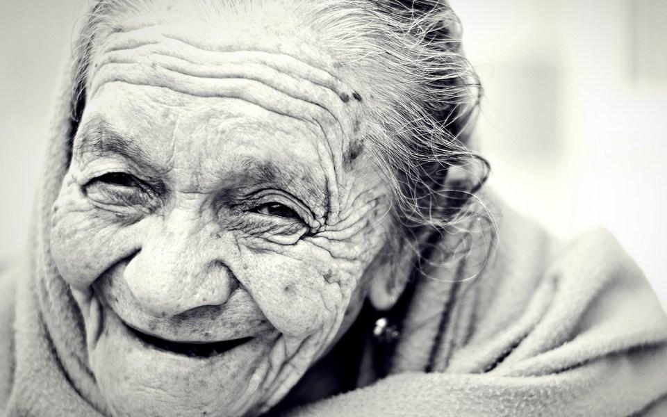 Staruszka i życiowe prawdy