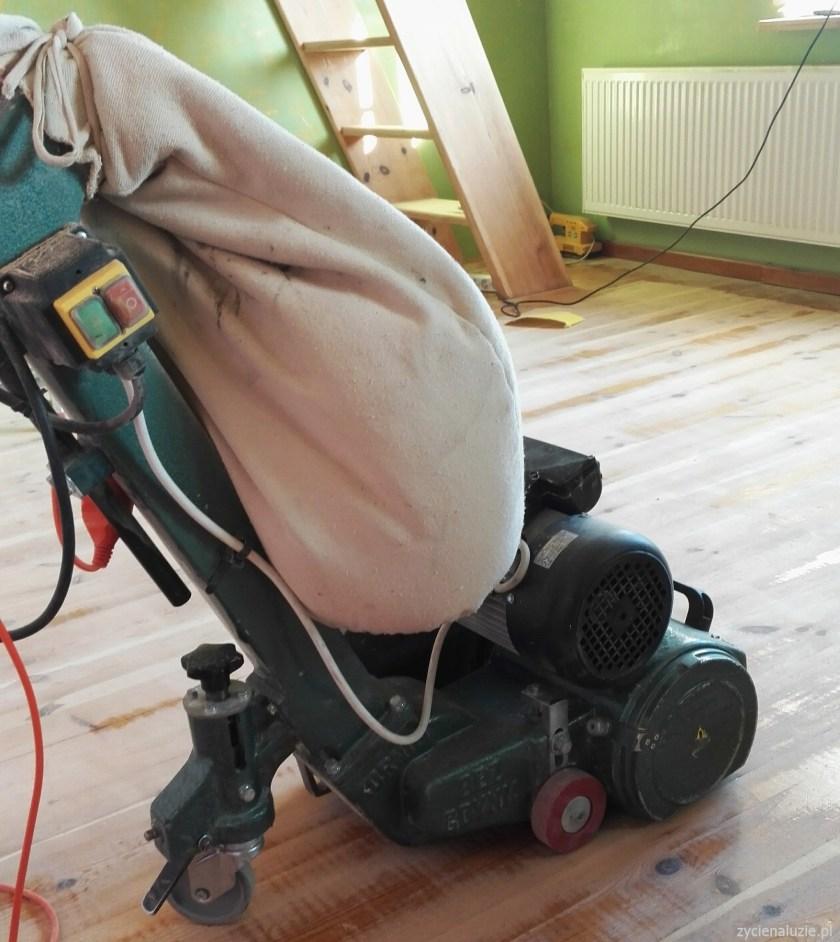 Cyklinowanie podłogi 2