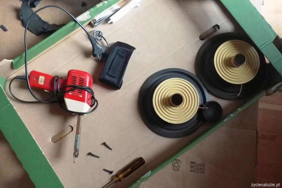 Renowacja głośników 2