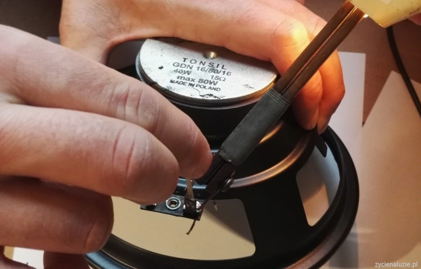 Renowacja głośników 4