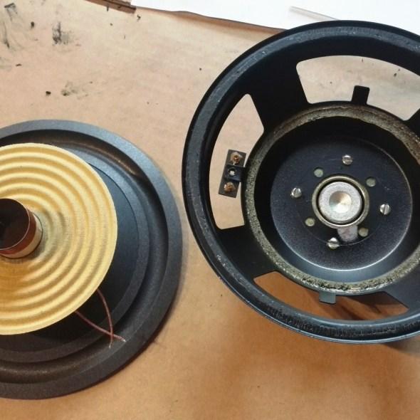 Renowacja głośników 7
