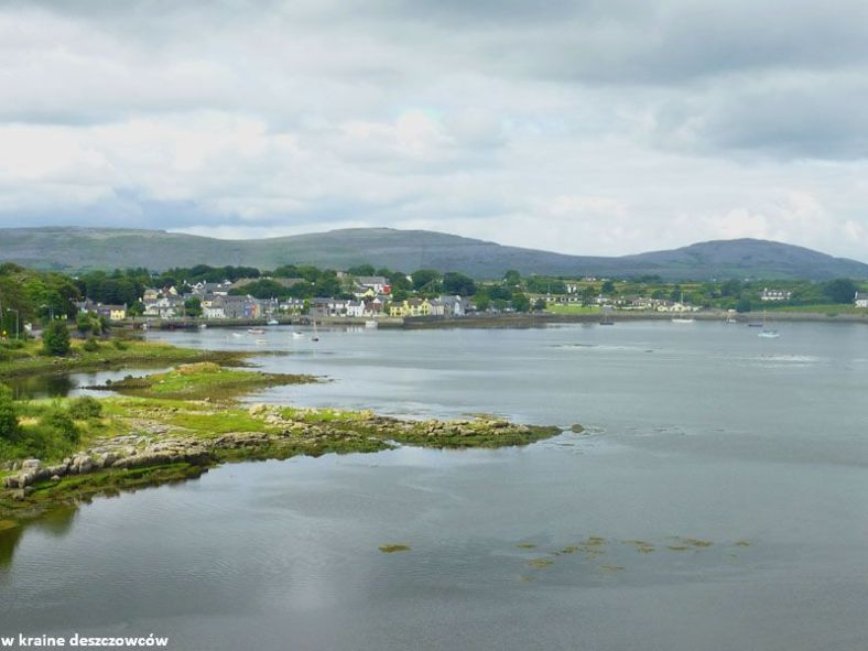 view from dunguaire castle