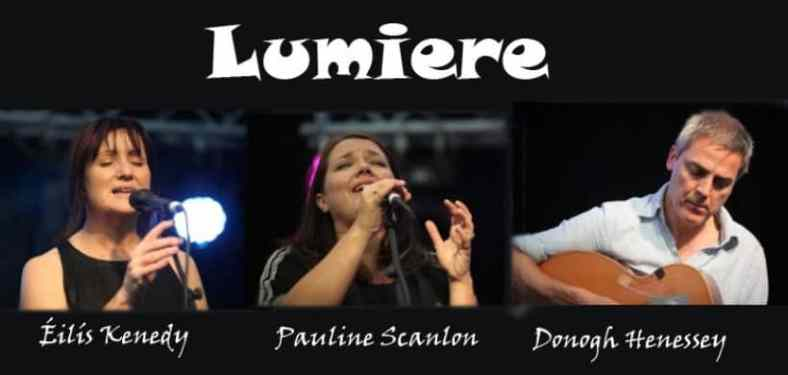 Irish music, folk music, Lumiere,