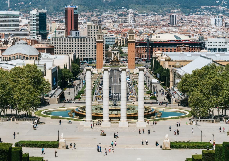 PLAÇA D'ESPANYA, Barcelona, Spain co zwiedzić w barcelonie w weekend zwiedzanie